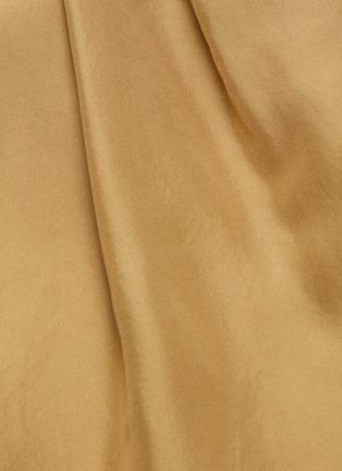 - VINCE - High waist silk shorts