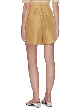 Back View - Click To Enlarge - VINCE - High waist silk shorts