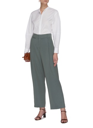 Figure View - Click To Enlarge - VINCE - Wide leg tailored pants