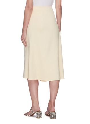 Back View - Click To Enlarge - VINCE - Asymmetric hem skirt
