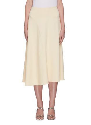 Main View - Click To Enlarge - VINCE - Asymmetric hem skirt