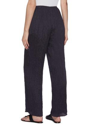 Back View - Click To Enlarge - VINCE - Hammered satin wide leg lounge pants