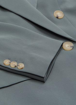 - VINCE - Peak lapel double breasted blazer
