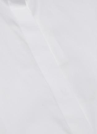 - VINCE - Sculptural sleeve cotton shirt