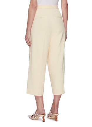 Back View - Click To Enlarge - VINCE - Wide leg crop culottes
