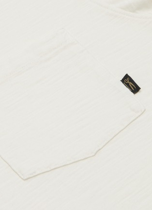 - DENHAM - 'Lloyd' chest pocket cotton polo shirt