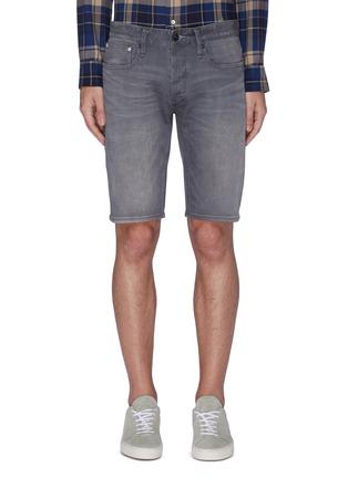 Main View - Click To Enlarge - DENHAM - Razor' washed slim fit denim shorts