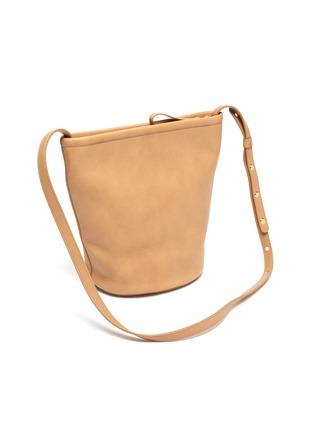 Figure View - Click To Enlarge - MANSUR GAVRIEL - Zipped leather bucket bag