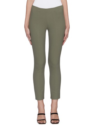Main View - Click To Enlarge - VINCE - Front stitch seam leggings