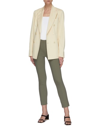 Figure View - Click To Enlarge - VINCE - Front stitch seam leggings