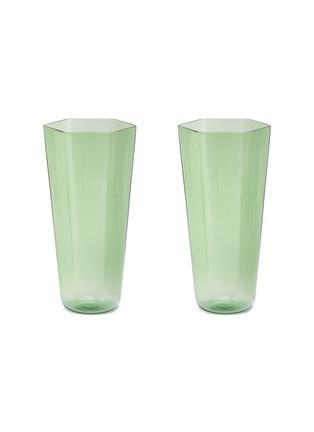 Main View - Click To Enlarge - R+D LAB - Nini bevanda glass set – Damine Green