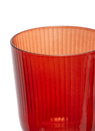 Detail View - Click To Enlarge - R+D LAB - LUISA CALICE GLASS SET – Etruscan Red