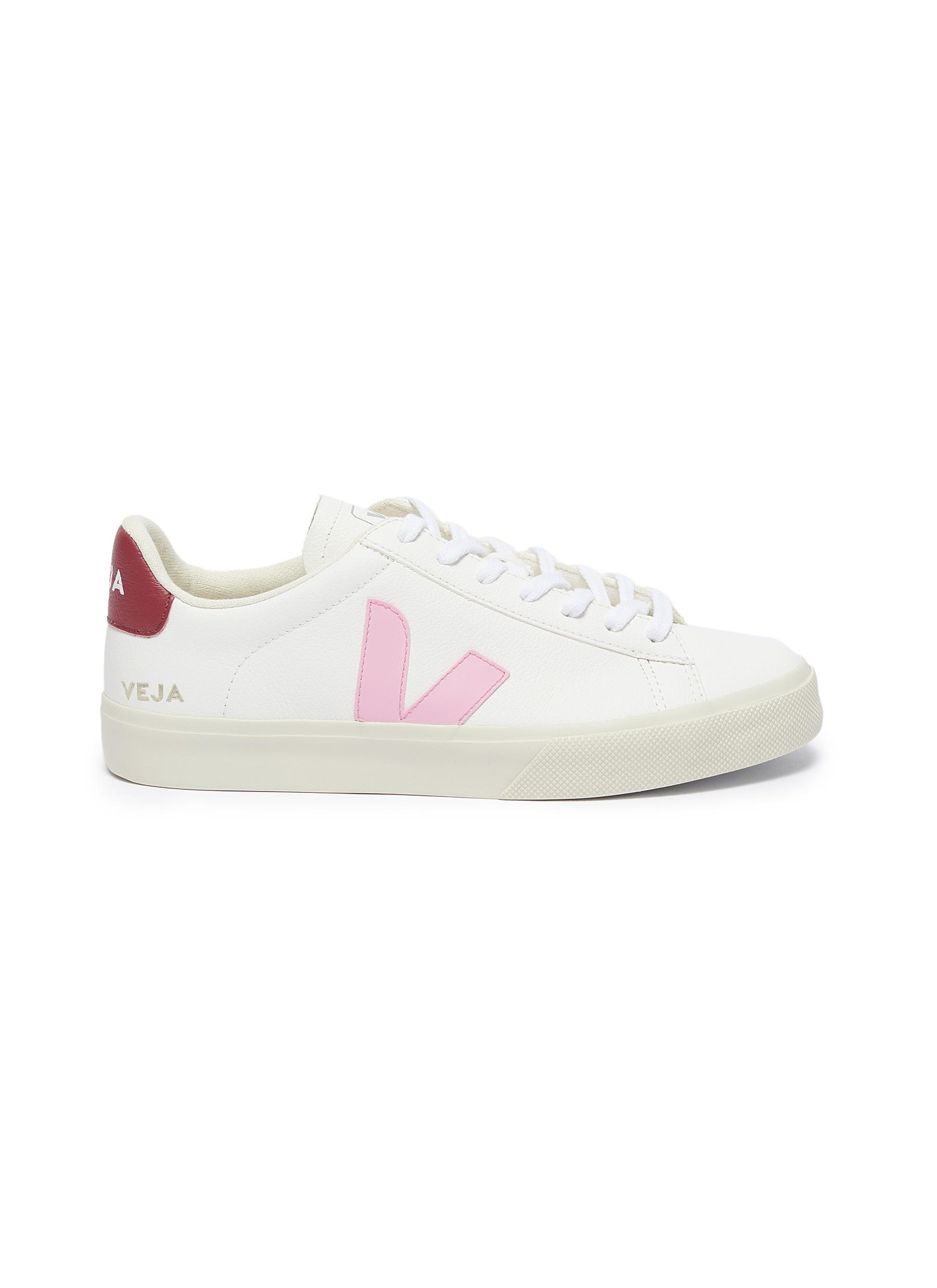 Veja Leathers 'CAMPO' CHROMEFREE LEATHER SNEAKERS