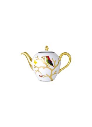 Main View - Click To Enlarge - BERNARDAUD - Aux Oiseaux Porcelain Teapot