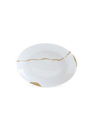 Main View - Click To Enlarge - BERNARDAUD - x Sarkis Kintsugi Deep Oval Porcelain Platter