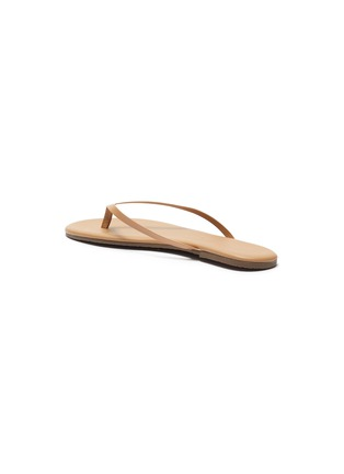 - TKEES - Foundations Matte leather flip flops