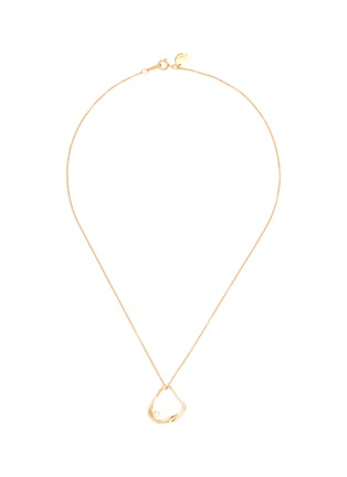 Main View - Click To Enlarge - OLIVIA YAO - 'Golden Ripple' freshwater pearl necklace