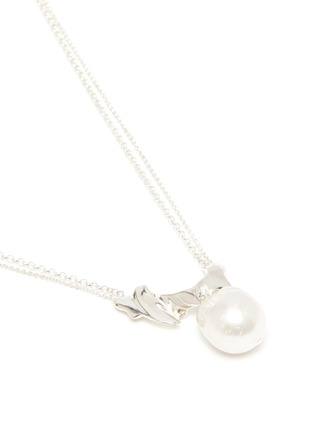 Detail View - Click To Enlarge - OLIVIA YAO - 'Pearl Spray' freshwater pearl sterling silver necklace