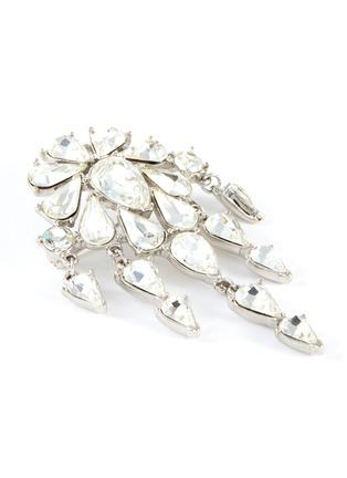 Detail View - Click To Enlarge - LANE CRAWFORD VINTAGE ACCESSORIES - Trifari' diamanté dangle brooch