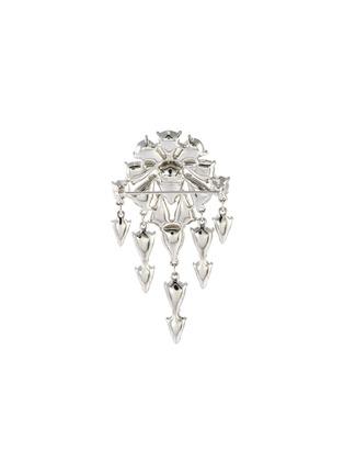 - LANE CRAWFORD VINTAGE ACCESSORIES - Trifari' diamanté dangle brooch