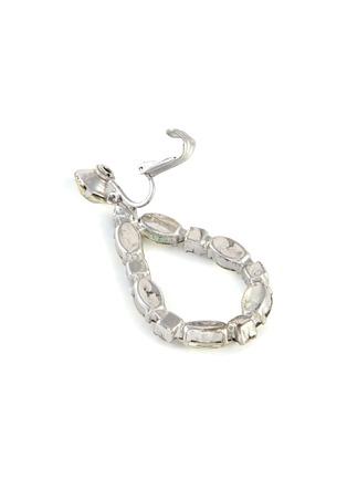Detail View - Click To Enlarge - STAZIA LOREN - Pear shape diamanté drop earrings