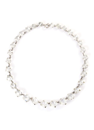 Main View - Click To Enlarge - STAZIA LOREN - Round-cut crystal necklace