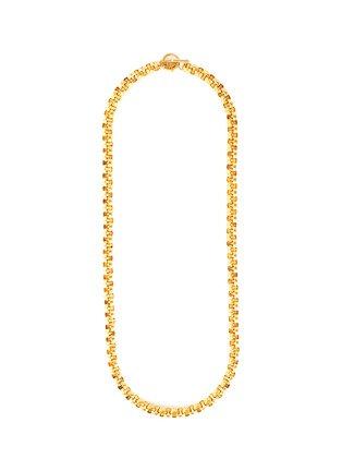 Main View - Click To Enlarge - STAZIA LOREN - 'Anne Klein' toggle rollo heavy necklace