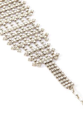 Detail View - Click To Enlarge - LANE CRAWFORD VINTAGE ACCESSORIES - Diamanté rhinestone choker