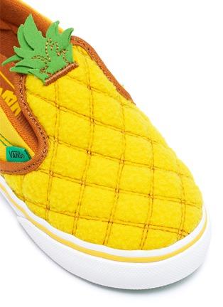 Detail View - Click To Enlarge - VANS - Pineapple slip on kids sneakers