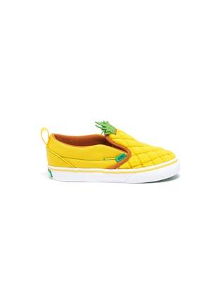 Main View - Click To Enlarge - VANS - Pineapple slip on kids sneakers