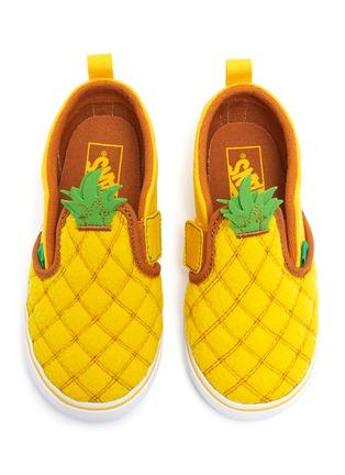 Figure View - Click To Enlarge - VANS - Pineapple slip on kids sneakers