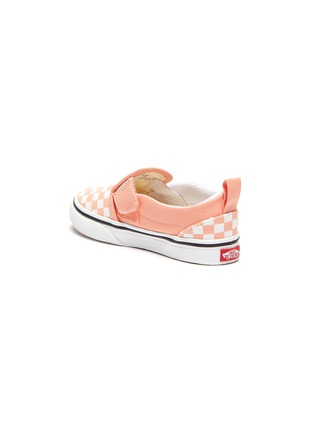 Detail View - Click To Enlarge - VANS - Checkerboard print slip on toddler sneakers