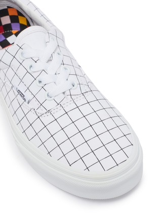 Detail View - Click To Enlarge - VANS - Era check print lace up canvas kids sneakers