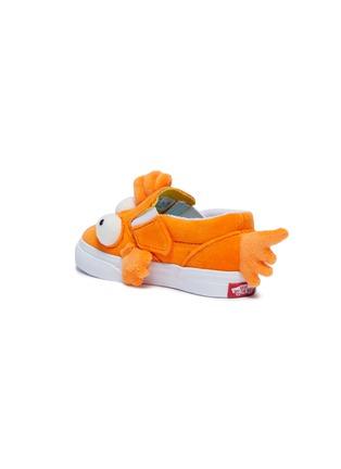 Detail View - Click To Enlarge - VANS - Mutated fish slip-on velcro strap velvet toddler sneakers