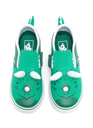 Figure View - Click To Enlarge - VANS - Triceratops slip on leather kids sneakers