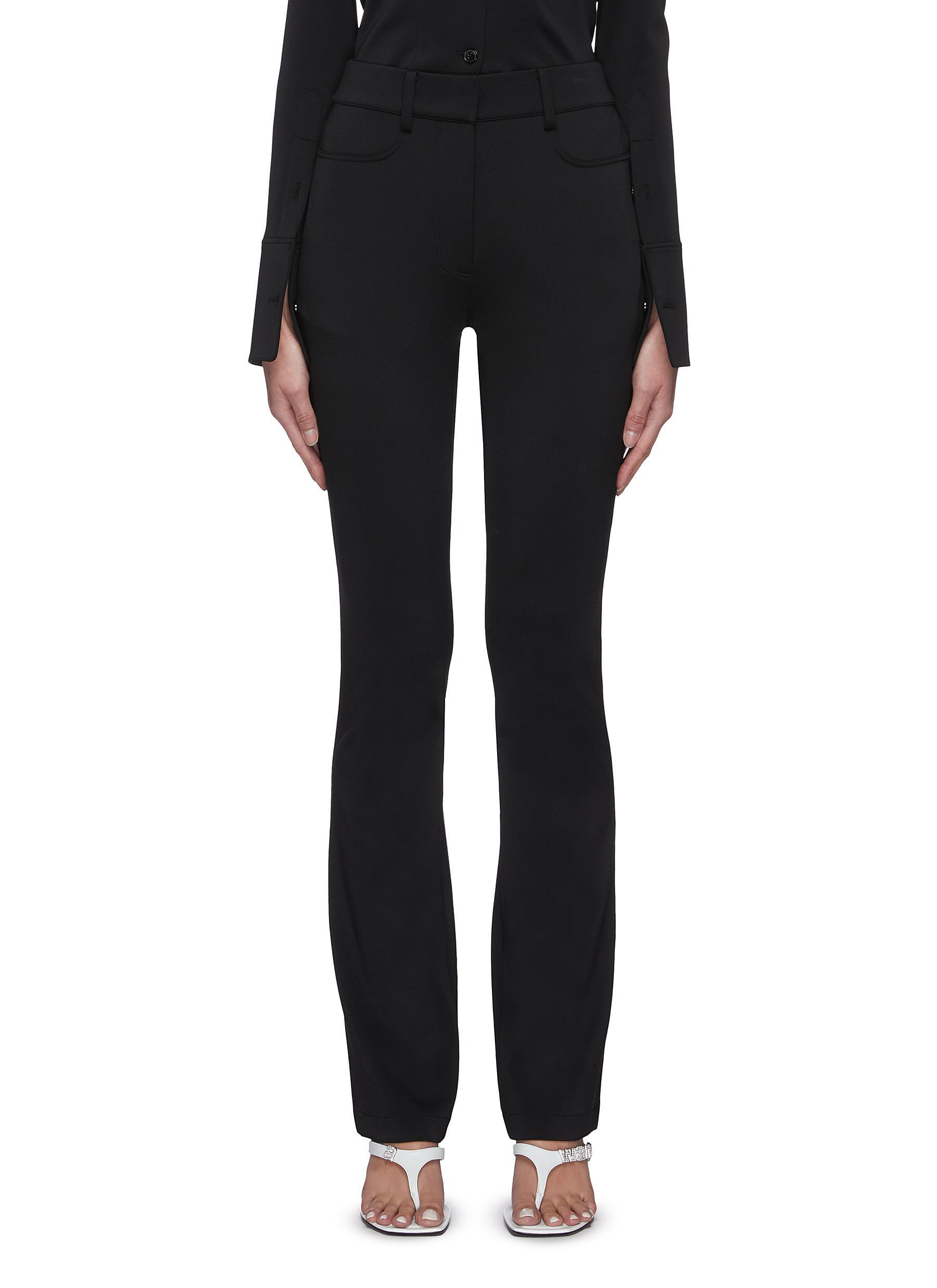 Alexander Wang TAILORED FLARED LEG PANTS