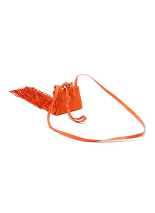 Detail View - Click To Enlarge - STRATHBERRY - x Xu Zhi Miniature Fringe Tote