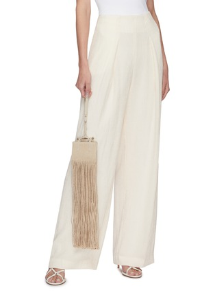 Front View - Click To Enlarge - STRATHBERRY - x Xu Zhi Miniature Fringe Tote