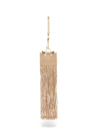 Main View - Click To Enlarge - STRATHBERRY - x Xu Zhi Miniature Fringe Tote