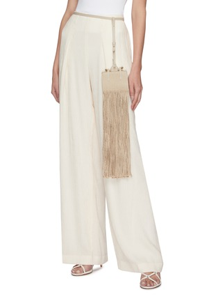 Figure View - Click To Enlarge - STRATHBERRY - x Xu Zhi Miniature Fringe Tote
