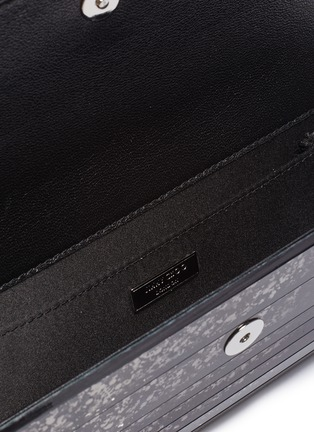 Detail View - Click To Enlarge - JIMMY CHOO - Sweetie' degrade glitter acrylic clutch