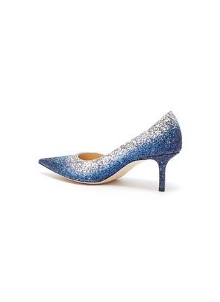 - JIMMY CHOO - 'Love 65' gradient glitter pumps