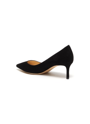 - JIMMY CHOO - Romy 60' point toe suede leather pumps