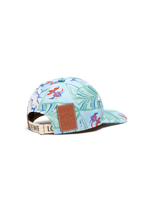 Figure View - Click To Enlarge - LOEWE - 'Paula Ibiza' waterlily print canvas cap