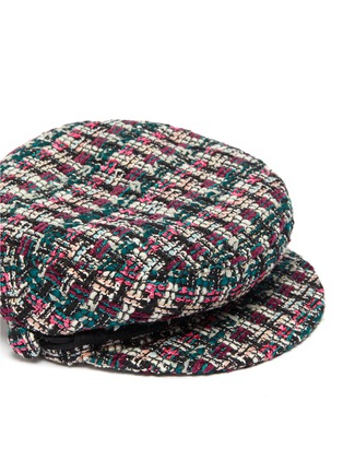 Detail View - Click To Enlarge - MAISON MICHEL - New Abby tweed sailor hat