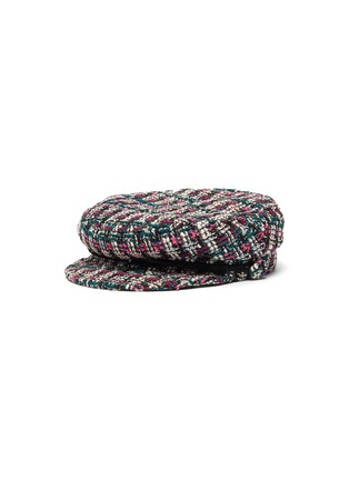 Main View - Click To Enlarge - MAISON MICHEL - New Abby tweed sailor hat
