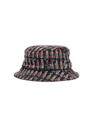 Main View - Click To Enlarge - MAISON MICHEL - 'Jason' tweed bucket hat