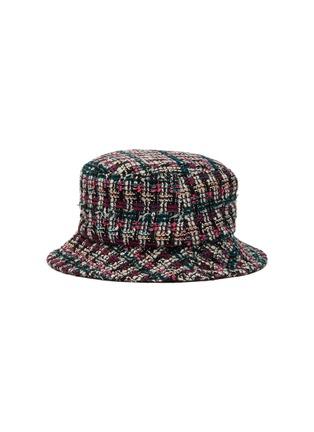 Figure View - Click To Enlarge - MAISON MICHEL - 'Jason' tweed bucket hat