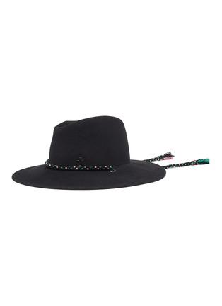 Main View - Click To Enlarge - MAISON MICHEL - Zango lurex cord felt fedora hat