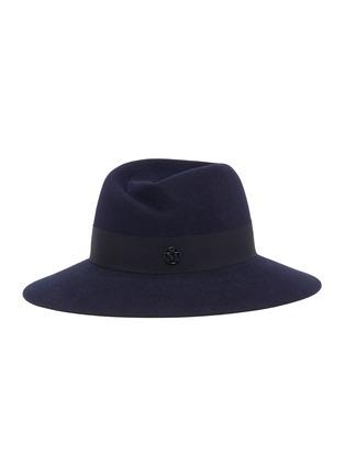Main View - Click To Enlarge - MAISON MICHEL - Virginie ribbon felt fedora hat